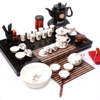 尚帝茶具 陶瓷八骏马套装+烧水壶套装 整套功夫茶具 茶具茶盘 Z-115021
