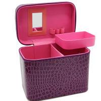 化妆包女 大容量手提式洗漱包旅行用品家用便携多功能化妆箱大号化妆品收纳盒