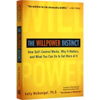 The Willpower Instinct 自控力 英文原版 Self-Control Works 生活自助 凯利・麦