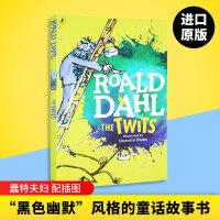 英文原版儿童小说 蠢特夫妇 The Twits 罗尔德达尔 Roald Dahl 全英文版 现货正版进口英语书籍