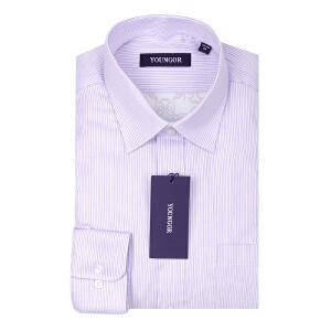 Youngor/雅戈尔16秋冬新品正装加厚保暖加厚长袖衬衫 BN15065KBA
