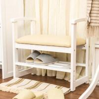 换鞋凳实木储物凳穿鞋凳式鞋柜收纳凳现代简约沙发凳试鞋凳