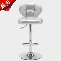 吧台椅酒吧椅旋转升降靠背椅子家用椅吧椅高脚吧台凳圆凳子收银凳