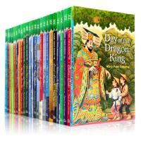 英文原版小说 Magic Tree House 55册 神奇树屋英文原版1-28-55 梅林的任务 章节故事书 青少年课外读物 阅读进阶桥梁章节书