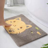 卡通�和��P室地毯地�| 入�暨M�T�_�|子�N房浴室�l生�g吸水防滑�|