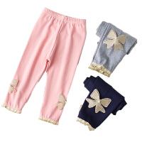 女童打底裤夏季儿童女宝宝薄款七分短裤子外穿休闲童裤