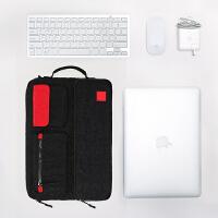 户外平板数据充电线收纳袋13寸笔记本电脑包数码收纳包整理包包
