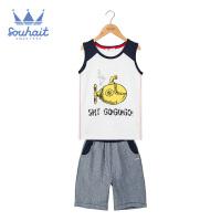 【秒杀价:79元】水孩儿童装儿童夏季套装男童运动套装