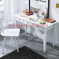 书房家具套装组合纯实木美式书桌简约欧式电脑桌书画桌现代写字台 否