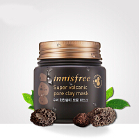 innisfree/悦诗风吟火山岩泥毛孔清洁多效面膜 控油保湿 清洁肌肤