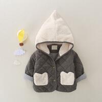 儿童外套秋冬装婴儿棉袄加厚保暖2020新款男童女宝宝冬季棉衣