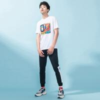 【超品预估价:35】361度短袖T恤男装2020年夏季新款舒适透气运动服篮球时尚易搭跑步服男装