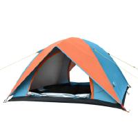帐篷户外2人3-4人家庭野外露营折叠自驾游户外钓鱼帐篷