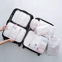 旅行收纳袋套装行李箱整理包旅游防水衣物袋旅行衣服收纳袋六件套