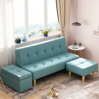 良木家居布艺沙发小户型客厅懒人沙发宜家可折叠沙发床旗舰家具店