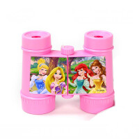 D 望远镜儿童高清双筒3-6男孩女孩玩具万花筒幼儿园