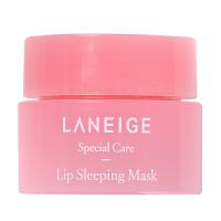 兰芝 夜间保湿修护唇膜3g 淡化唇纹 专柜小样试用