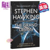【中商原版】The Grand Design 大设计 英文原版 Stephen Hawking 霍金作品 阐释宇宙问题 M理论 史蒂芬霍金经典著作 科普读物