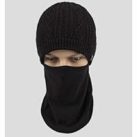 男士护脸帽女风雪帽一体帽口罩帽冬户外男帽防风帽骑车帽子骑行帽