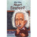 【中商原版】[英文原版] Who Was Albert Einstein? 爱因斯坦(人物传奇系列)