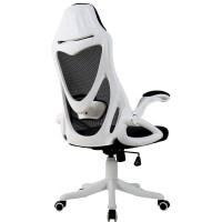 电脑椅家用舒适办公椅子靠背懒人转电竞椅简约久坐人体工学 尼龙脚 旋转升降扶手