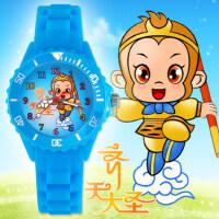中小学生手表男孩运动石英表 韩版可爱儿童手表 女孩糖果色卡通卡