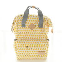 防水小黄鸭妈咪包卡通多功能大容量双肩包母婴书包待产包外出包