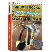 正版现货 行动造就人 英文原版 The Moves Make the Man 纽伯瑞银奖 篮球少年 英文版青春励志文学