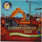 On the Construction Site 英文原版 平装 小达尔文大发现系列 忙忙碌碌建筑工地 Shine A
