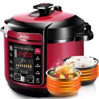 美的(Midea)WQC60A5 6L双胆 12大烹饪菜单 电压力锅