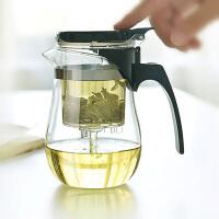 花茶壶飘逸杯500ml过滤内胆茶壶套装茶具 功夫茶具可拆洗内胆泡茶杯水杯茶壶办公杯