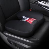 汽车坐垫网红女神款可爱时尚卡通四季通用座垫加厚增高单个屁屁垫