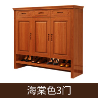 家具�F代中式��木鞋柜�T�d柜���_�T2�T3�T�M�b玄�P鞋架�ξ锕� �M�b
