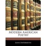 【预订】Modern American Poetry