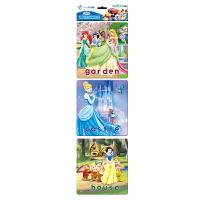 Disney 迪士尼拼图 迷你认知小框拼图 儿童益智玩具 我爱我家 3图双混 DP01-08-02