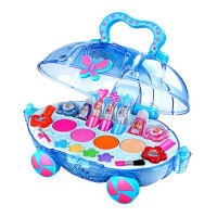 迪士尼儿童彩妆盒公主化妆品套装安全无毒小女童女孩玩具生日礼物
