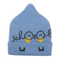 儿童保暖套头帽婴幼儿胎帽小孩护耳帽棉线帽童帽