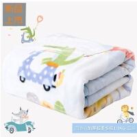 婴儿毛毯双层加厚冬季云毯儿童毯子宝宝盖毯*定制
