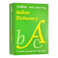 轻松学意大利语词典 英文原版 Collins Easy Learning Italian Dictionary 意大利语