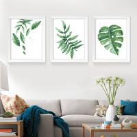 北欧客厅植物花卉DIY数字油画现代简约装饰画 餐厅墙画壁画挂画