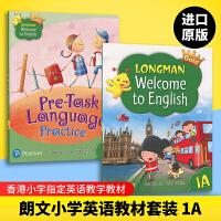 Longman Welcome to English Gold 1A 香港朗文培生少儿小学英语教材 一年级上学期 主课本
