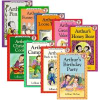 Arthur's Birthday Party 英文原版绘本 亚瑟系列8册 汪培�E书单I can read第四阶段 亲子