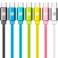 通用型快充线安卓/苹果/TYPE-C数据线6 7 8 Plus IPAD充电器短线加长1 2米华为小米OPPO手机充电