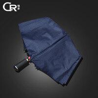 雨伞男女士晴雨两用三折叠双人防风伞黑胶太阳伞
