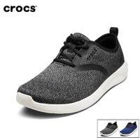 【领券下单立减100】Crocs男鞋 卡骆驰2018新款 男士LiteRide系带鞋潮流便鞋|205162 男士Lit
