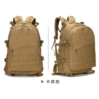 升级版户外军迷登山背包迷彩特种兵战术背包双肩3D旅游野营包45L