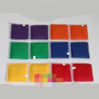 早教幼儿园儿童健身玩具游戏丢沙包投掷豆袋 大中小沙包 12.5cm 大沙包(12只一套)