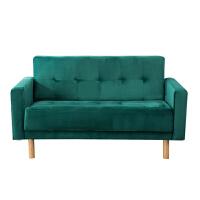 小户型沙发北欧两人双人三人沙发出租房工作室公寓布艺服装店沙发