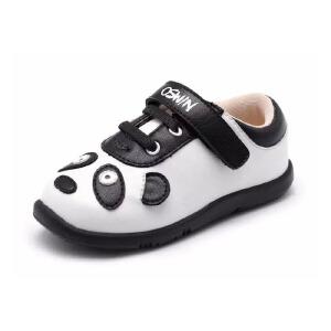 鞋柜/SHOEBOX韩版潮儿童鞋男童鞋 卡通熊猫魔术贴旅游休闲运动鞋