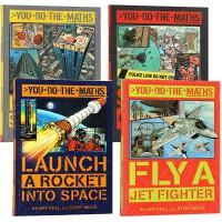 You Do the Maths 英文原版 数学绘本 思维训练 无所不在的数学应用4册 自然科普漫画